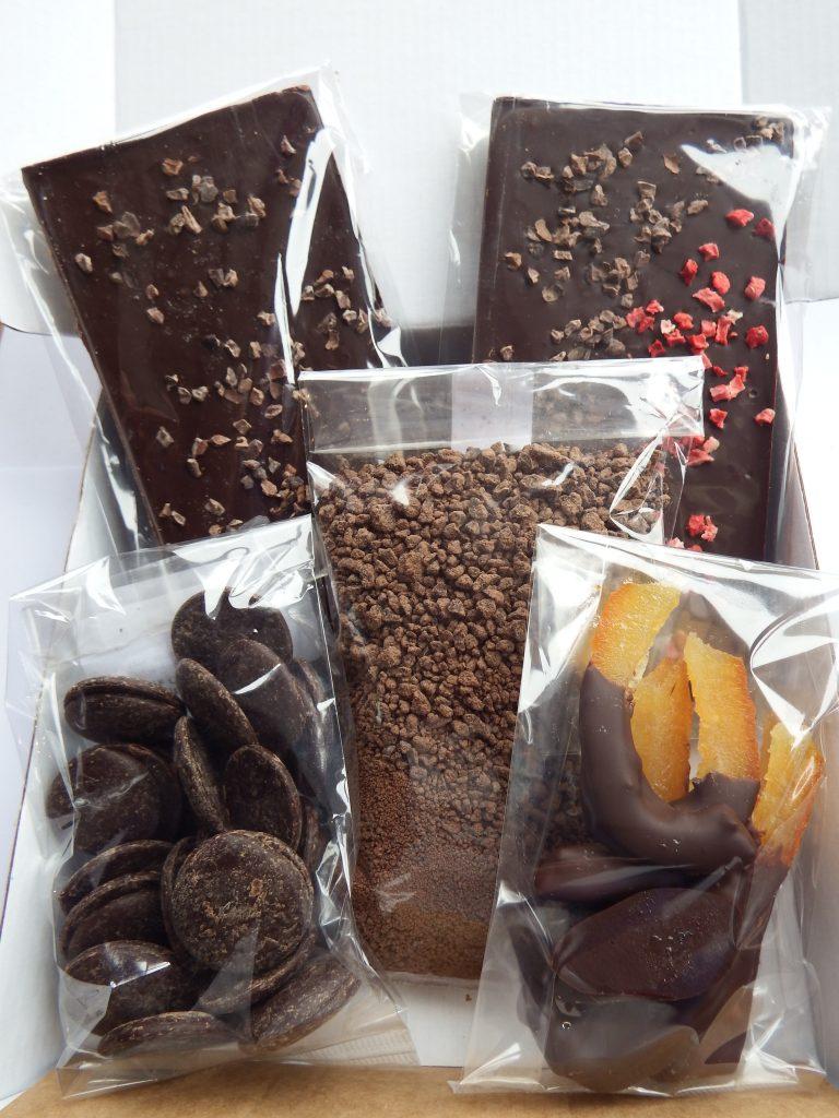 dark chocolate survival box