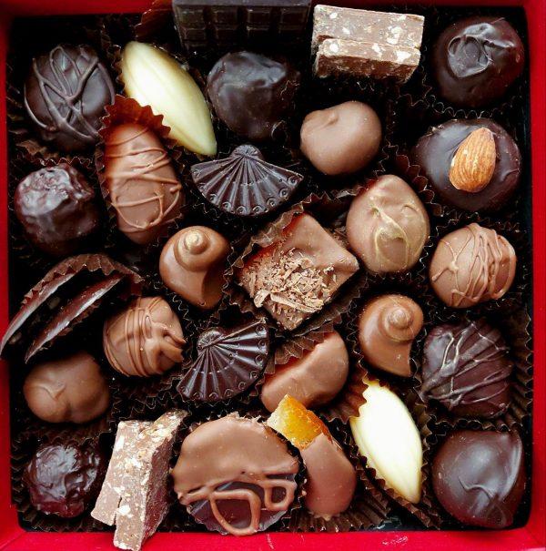 mixed chocolate subscription box