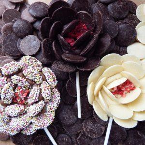 three flower lollipop kit