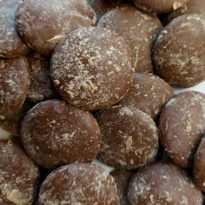 41.4% cocoa buttons