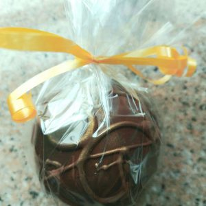 dark milk chocolate bomb