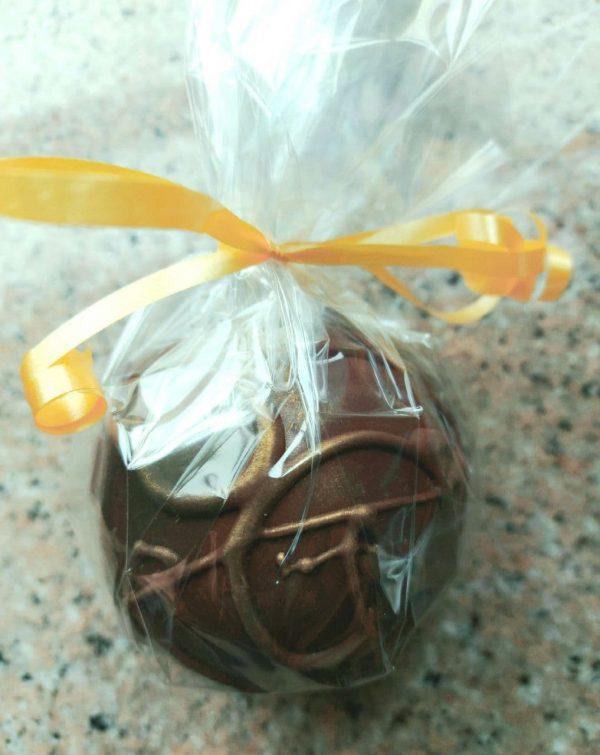 dark milk chocolate bomb