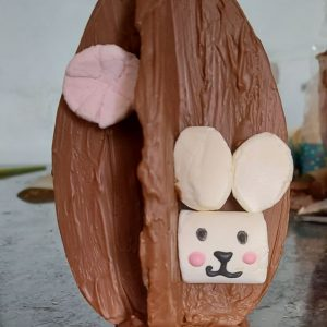 bunny flat 3D Egg